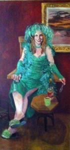 Absinthia painting