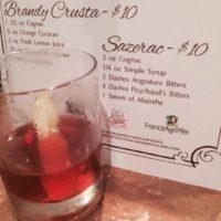 Sazerac (made with Cognac)