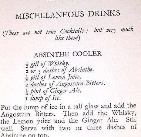 Absinthe Cooler