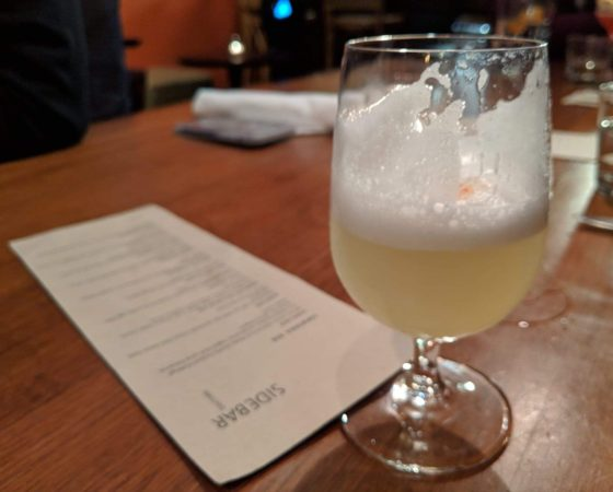 Tequila Sour with Absinthe Rinse